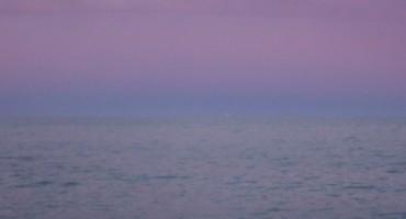Ocean at Dawn - Barcelona, Spain