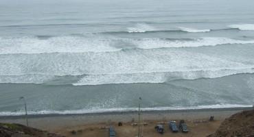 Cliffside Ocean - Lima, Peru