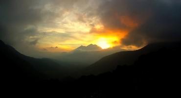 Sunset - El Hato, Guatemala