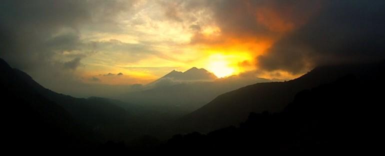 Sunset – El Hato, Guatemala