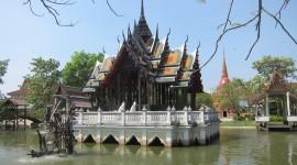 Buddhist Courtyard – Bangkok, Thailand