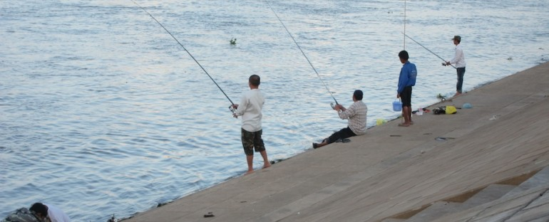 Fishing The Mekong River – Phnom Penh, Cambodia