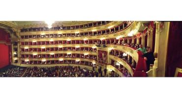 Intermission at La Scala - Milan, Italy