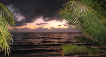Coastal Sunrise - Hopkins, Belize