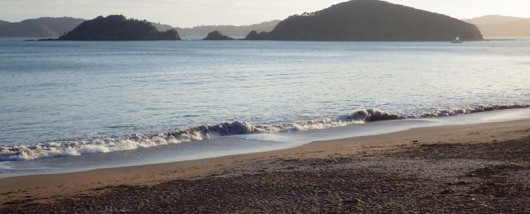 Ocean Before Dawn – Paihia, New Zealand