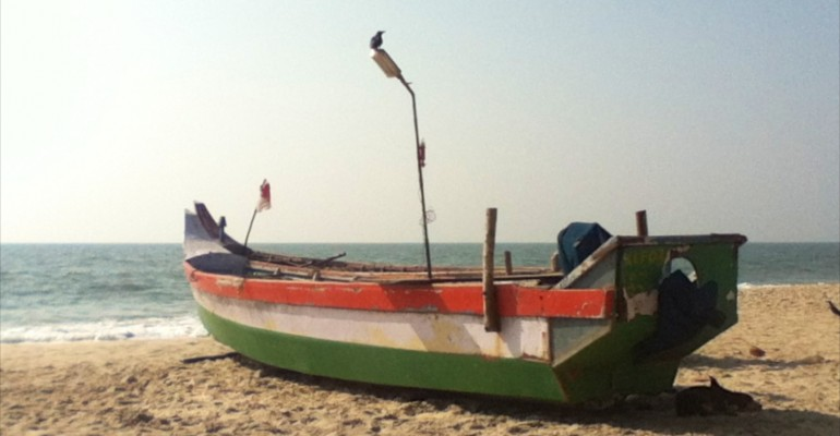Alleppey Beach – Kerala, India