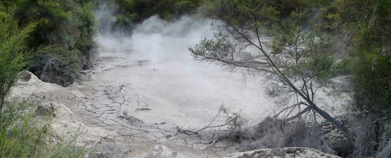 Boiling Mud Pool – Waiotapu, New Zealand