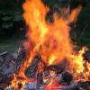 Haines Bonfire - Alaska, USA