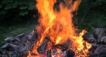 Haines Bonfire – Alaska, USA