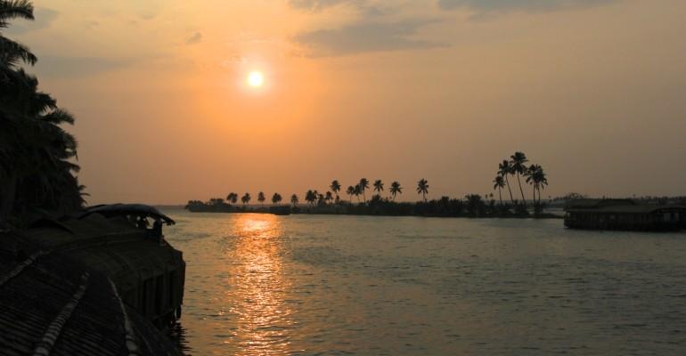Kumarakom Sunset – Kerala, India