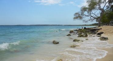 Playa Blanca de Baru - Cartagena, Colombia