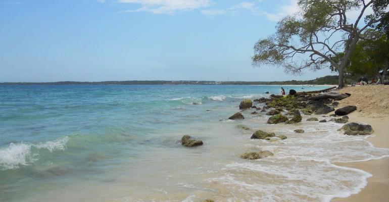 Playa Blanca de Baru – Cartagena, Colombia