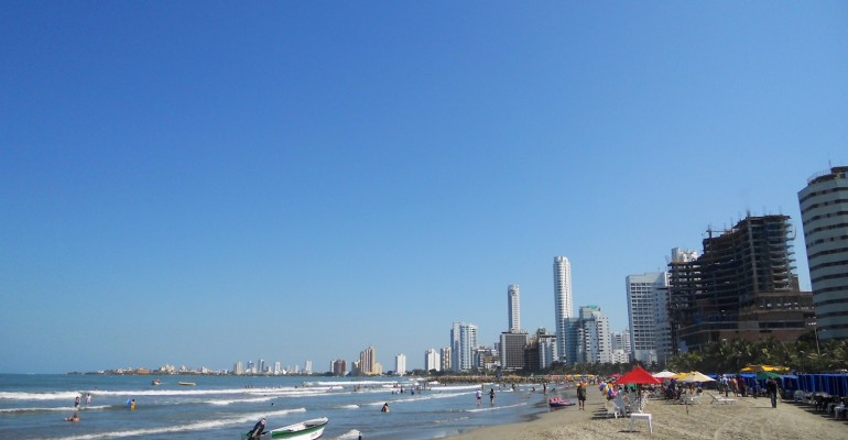 Playa Bocagrande – Cartagena, Colombia