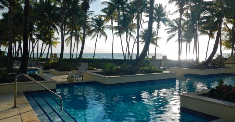 Poolside View – Puerto Rico
