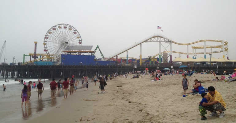 Santa Monica Pier – California, USA