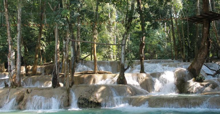 Tad Sae Waterfalls – Luang Prabang, Laos