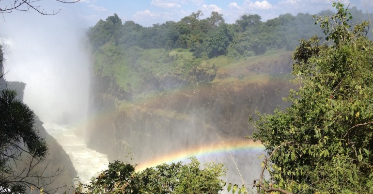Victoria Falls – Border of Zambia and Zimbabwe