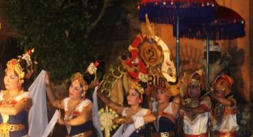 Balinese Dancers - Bali, Indonesia