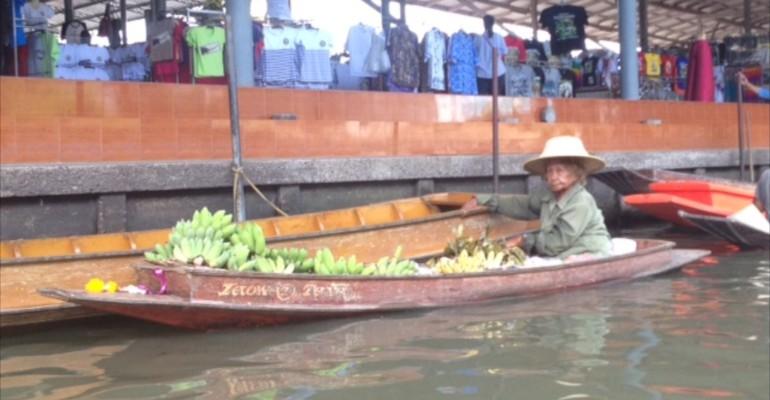 Floating Market – Ratchaburi, Thailand