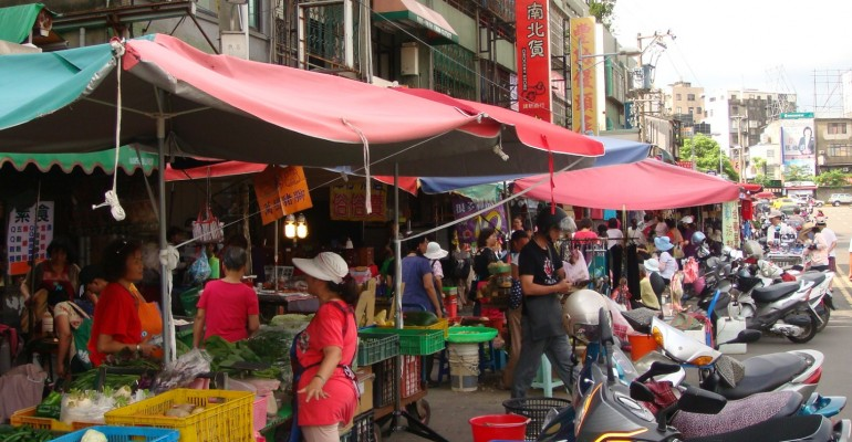 Morning Market - Hsinchu, Taiwan
