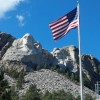 Mount Rushmore Flag – South Dakota, USA