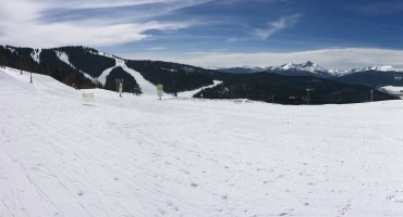 Skiing at Vail - Colorado, USA