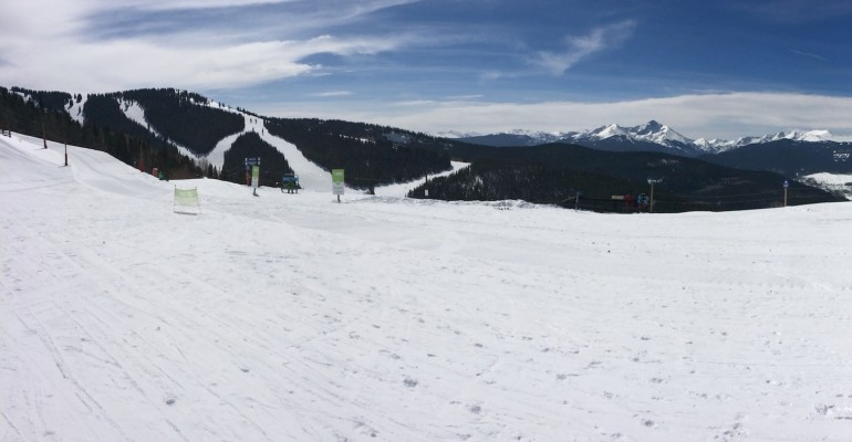 Skiing at Vail – Colorado, USA