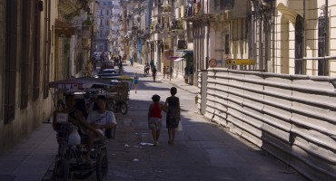 Street Drumming - Havana, Cuba