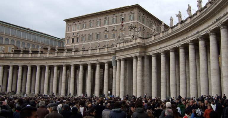 Sunday Mass – Vatican City, Italy
