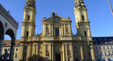 Theatine Church of St. Cajetan - Munich, Germany