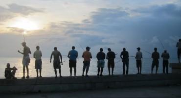 Fishermen – Havana, Cuba