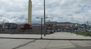 Town Square – Ulan Bator, Mongolia