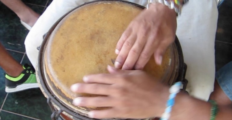 Master Drum Lesson – Matanzas, Cuba