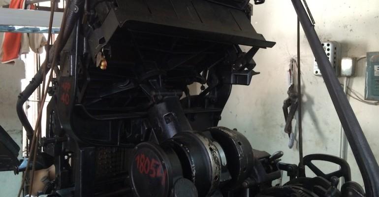 Printing Press – Santiago de Cuba