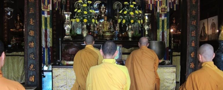 Buddhist Monk Chanting – Hue, Vietnam