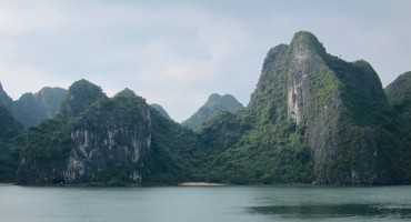 Morning Birds - Ha Long Bay, Vietnam
