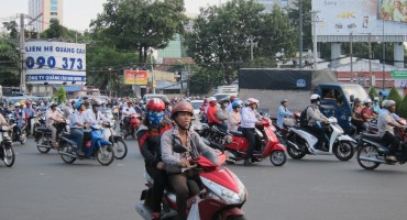 Street Traffic – Ho Chi Minh City, Vietnam
