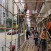 Bamboo Scaffolding Assembly – Hong Kong, China
