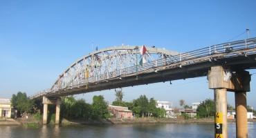 Cho Lach Bridge – Mekong Delta Region, Vietnam