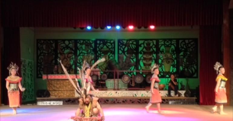 Warrior Dance – Sarawak, Malaysia