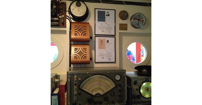 Morse Code at Skógar Museum of Transportation – Iceland