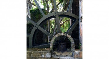 Water Wheel – Tryall, Jamaica