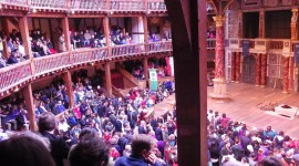 Intermission at the Globe Theatre – London, England