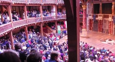Intermission at the Globe Theatre – London, England