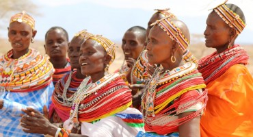 Samburu Chanting - Samburu National Reserve, Kenya