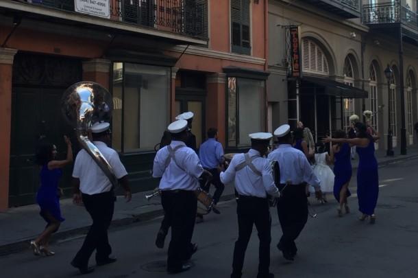 Second Line Wedding Parade - New Orleans, USA