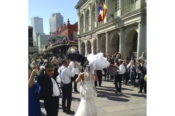 Second Line Wedding Parade - New Orleans, USA2