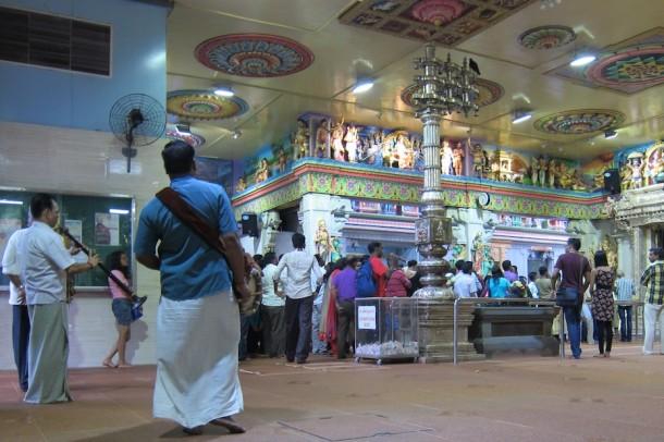 Sri Veeramakaliamman Temple Ceremony – Singapore