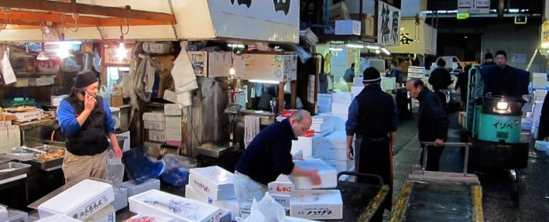 Tsukiji Fish Market – Tokyo, Japan