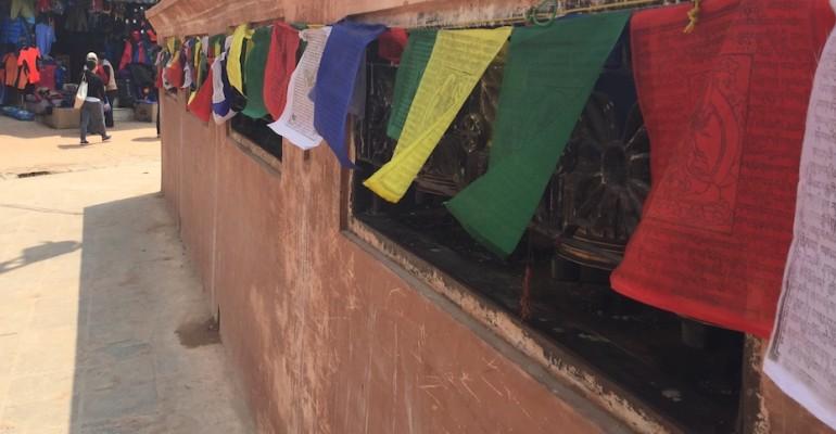 Prayer Wheel – Kathmandu, Nepal